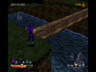 Screenshot Thumbnail / Media File 1 for Ninja - Shadow of Darkness [NTSC-U]
